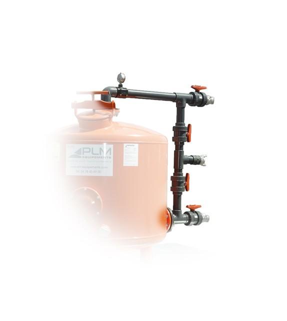 Panoplie de vannes manuelles pour filtre FB