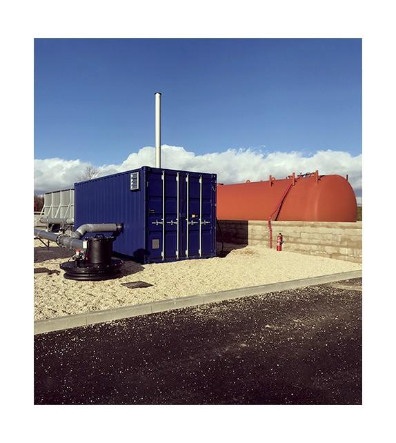 Unité de traitement d'air biopile 5500 m3/h