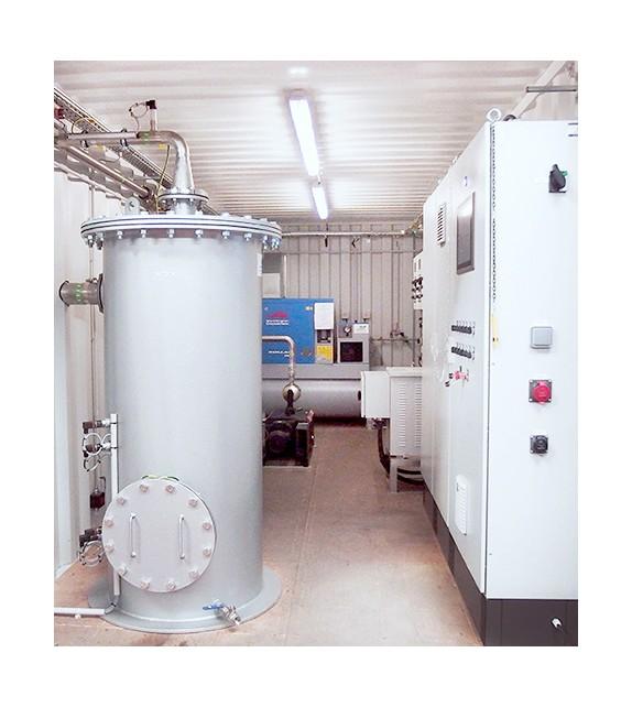 Unité d'extraction sous vide ATEX 300 m3/h