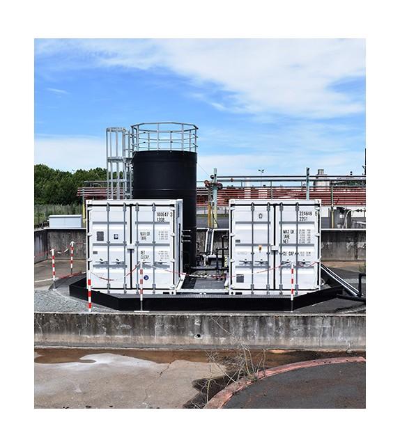 Unité de pompage et filtration 5 m3/h
