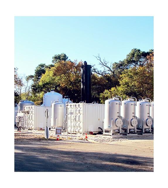 Unité de déferrisation - stripping - filtration résine 50 m3/h