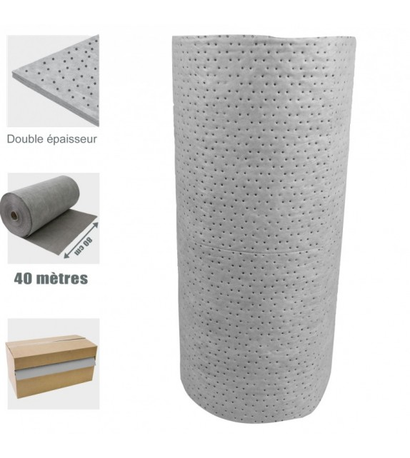 Rouleaux absorbant - (80 cm x 40 m)